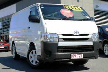 2014 Toyota Hiace Lwb Van (White)