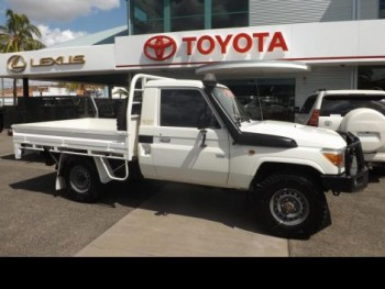 2008 Toyota LC Military Workmate 4.5L T