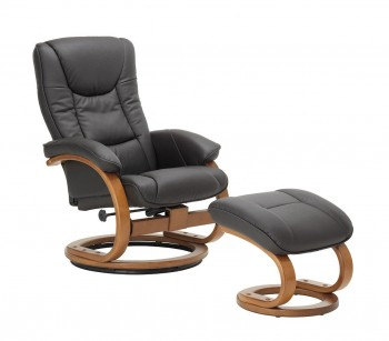 Duke Recliner with footstool