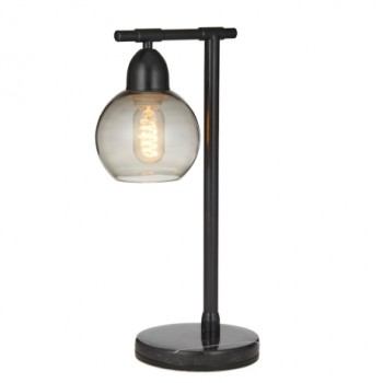 Bourke Black Metal Table Lamp