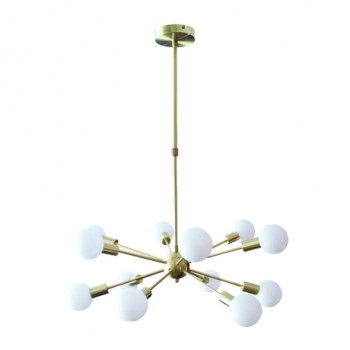 Astrid Brass Pendant Light