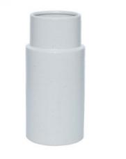 SAWYER VASE WHITE (L)