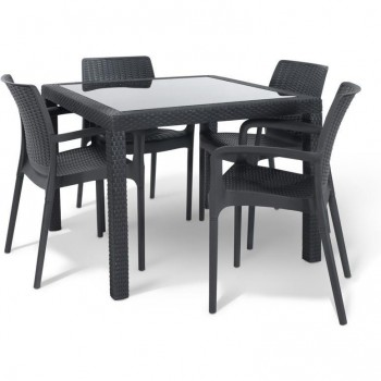 Sumatra 5 piece Outdoor Dining Set