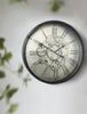 ROMAN NUMERAL WALL CLOCK 3D