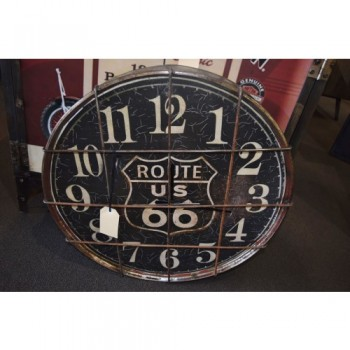 Steampunk Round Clock