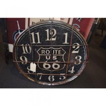 Steampunk Round Clock