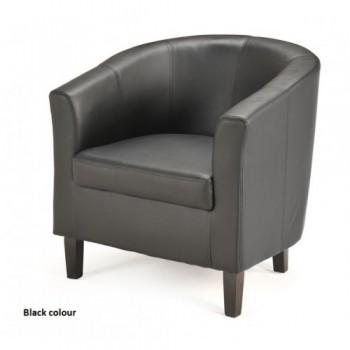 Melba Tub Chair - Black