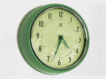 Round Retro Clock