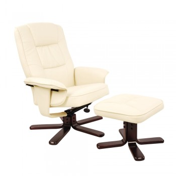 PU Leather Lounge Office Recliner Chair