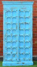 Shabby Chic Bright Blue Antique Door