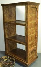 Reclaimed Timber Antique Door Bookshelf