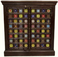 Ceramic Tile Sideboard Storage
