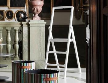WHITE STEP STEPLADDER BY KARL MALMVALL