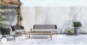 Lazio Outdoor 2x Armchair
