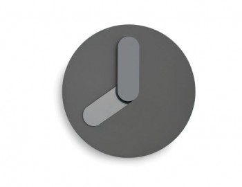 GREY BOLD WALL CLOCK BY JONAS WAGELL