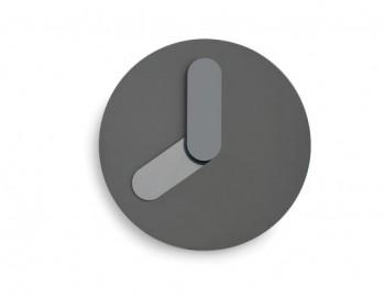 GREY BOLD WALL CLOCK BY JONAS WAGELL