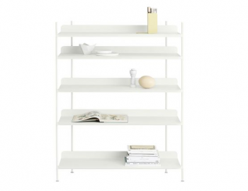 COMPILE SHELVING SYSTEM IN WHITE