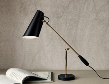 BIRDY TABLE LAMP IN BLACK BY NORTHERN