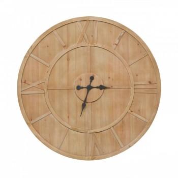 Adelaide Round Clock - Natural