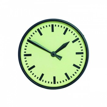 Mavis Metal Round Wall Clock