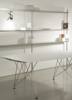 Table B Steel dining table