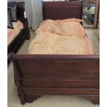 Sleigh Bed Single