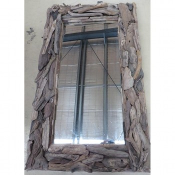 Driftwood Mirror retangle
