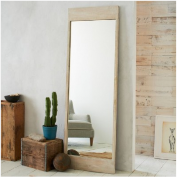 SALVAGED TIMBER MIRRORS CUSTOM RECYCLED.