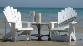 CAPE COD ADIRONDACK CHAIRS IN WHITE