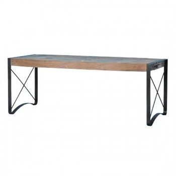 BOWFRONT DINING TABLE