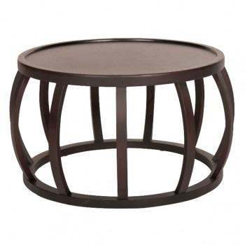 Ascot Round Slat Coffee Table