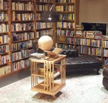 Traditional Revolving Bookcase