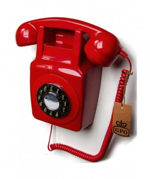 GPO 746 Wall phone traditional retro pus