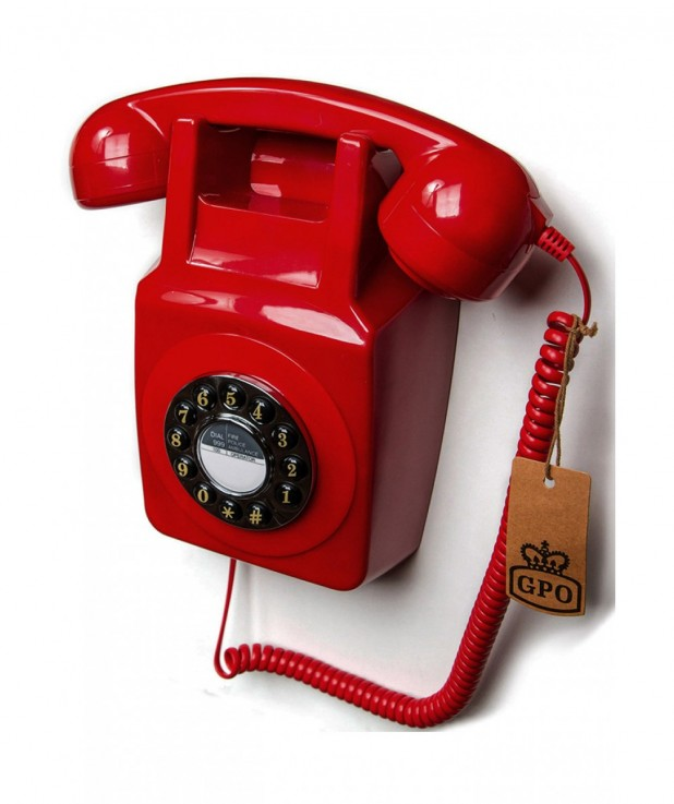GPO 746 Wall phone traditional retro pus