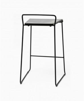 Transit counter stool - black frame