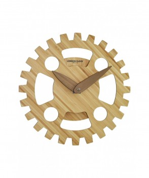 Wood Cogs Wall Clock 36cm by London