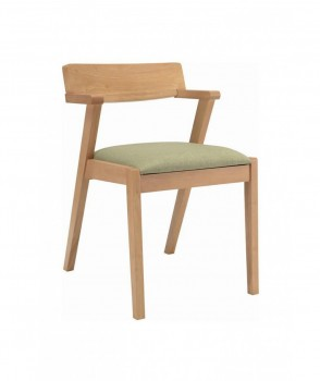 Zola Dining Chair In Spring Green