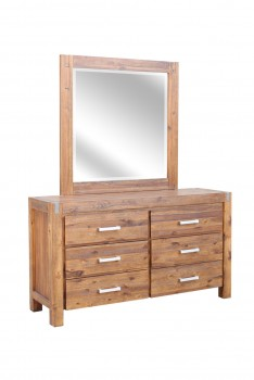 BELIZE – DRESSER & MIRROR