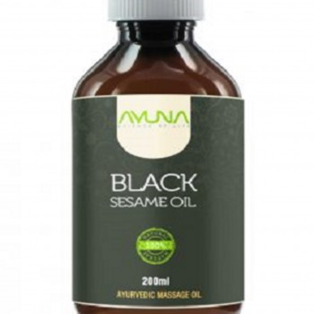 Buy Best Quality Natural and Organic Black Sesame Oil