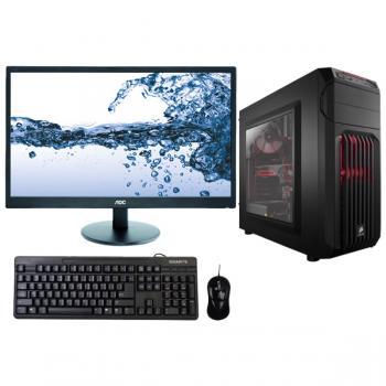LEC Quantum Gaming Desktop - FHD Monitor