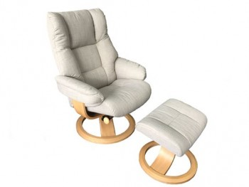 Nordic 60 Recliner with Footstool