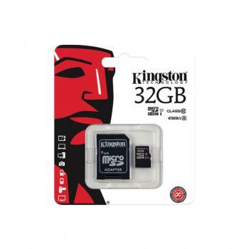 Kingston Micro SD Card Class 10 32GB