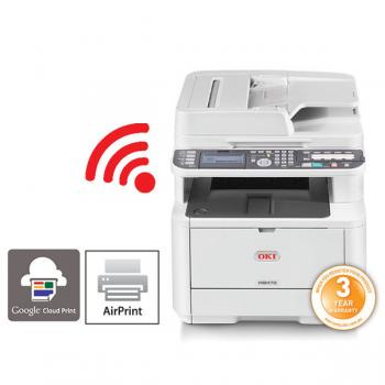 OKI MB472dnw A4 Mono MFP Printer