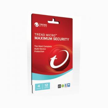 Trend Micro Maximum Security 2017- 1-4 D