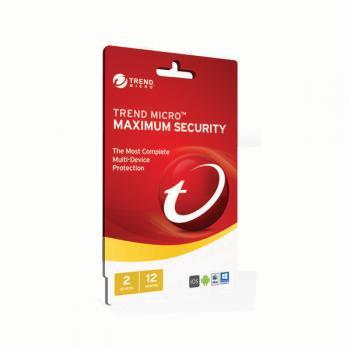 Trend Micro Maximum Security 2017- 1-2 D