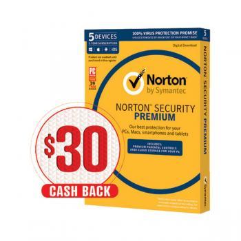 Norton Security Premium 5 Devices