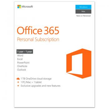 Microsoft Office 365 Personal Subscripti