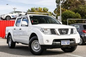 2014 Nissan Navara Rx Utility (White)