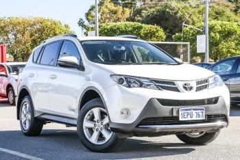 2014 Toyota Rav4 Gxl Wagon (White)