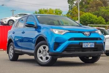 2016 Toyota Rav4 Gx Wagon (Blue)